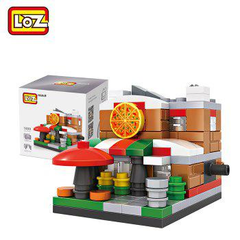 LOZ ABS Street View Architecture Building Block Educational Movie Product Kid Toy - 126pcs - COLORMIX STYLE1