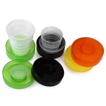 Pocket Size 200mL Foldable Collapsible Cup