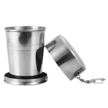 140mL Stainless Steel Foldable Cup