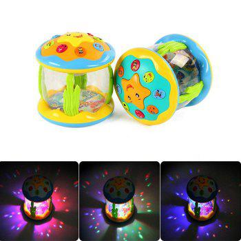 Creative Musical Marine Drum Electric Starshine Kid Early Educational Toy - 1pc