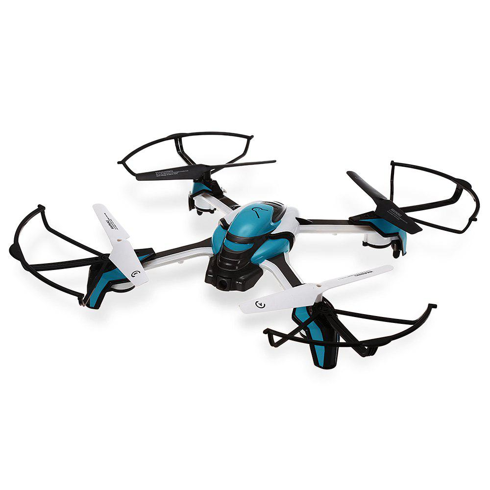 Refurbished KAIDENG PANTONMA K80 2.4GHz 4CH 6 Axis Gyro Brushed Drone - BLUE