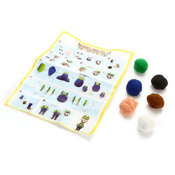 DIY 3D Colored Modeling Clay Intelligence Toy for Reducing Stress -  COLORMIX