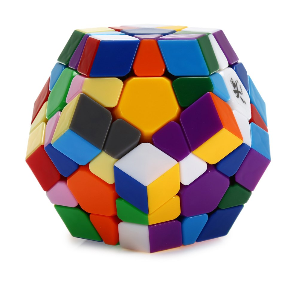DaYan Dodecahedron Irregular Magic Cube Brain Teaser Educational Toy dayan gem cube vi magic cube white and black learning