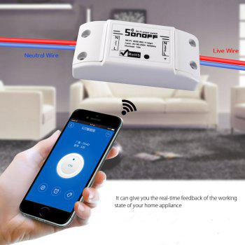 Smart Home WiFi Wireless Timing Switch for Apple Android - WHITE NORMAL