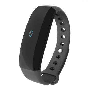 CUBOT V2 All-weather Heart Rate Monitor Smart Wristband with 30 Days Data Storing Function -  BLACK