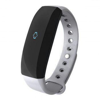 CUBOT V2 All-weather Heart Rate Monitor Smart Wristband with 30 Days Data Storing Function -  GRAY