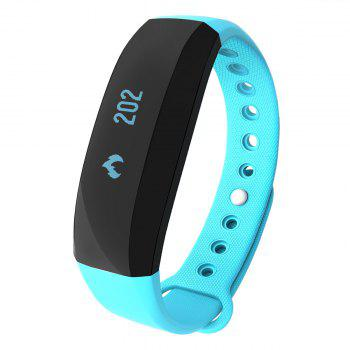 CUBOT V2 All-weather Heart Rate Monitor Smart Wristband with 30 Days Data Storing Function -  BLUE