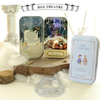 Room Design DIY Miniature Box Theatre Idea Art Handicraft Gift