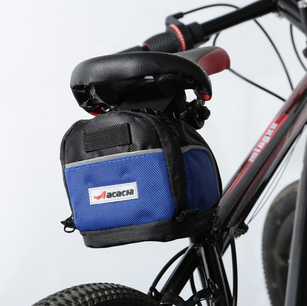 Buy Acacia 04112 Extendable Bicycle Saddle Bag Bike Tail Pouch BLACK BLUE