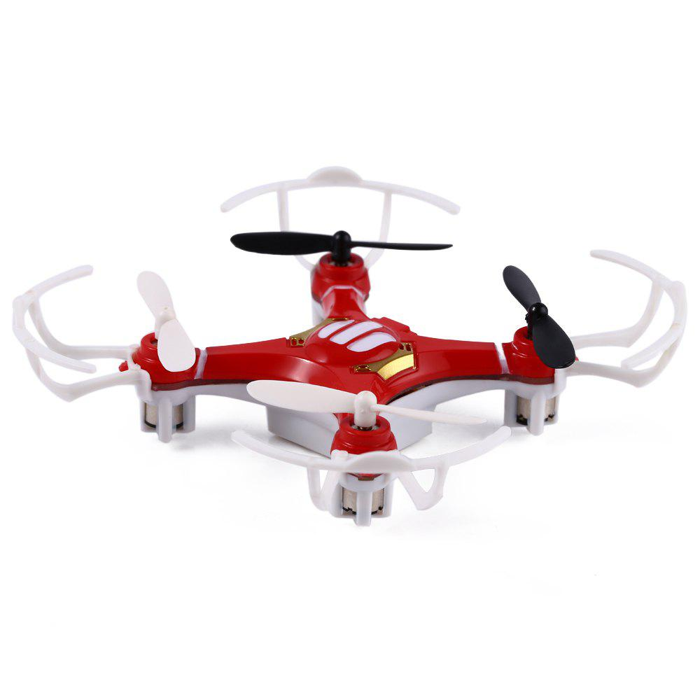 FLYER 668 - A4 4CH 2.4G Mini RC Quadcopter with Light 360 Degree EversionHome<br><br><br>Color: RED