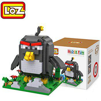 LOZ ABS Cartoon Bird Figure Building Block Educational Movie Product Kid Toy - 510Pcs