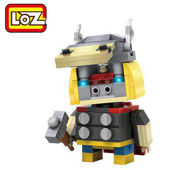 LOZ ABS Hero Style Building Block Educational Cartoon Movie Product Kid Toy - 182pcs