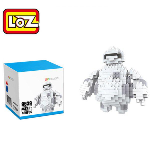 LOZ ABS Cartoon Figure Building Block Educational Movie Product Kid Toy - 400PcsHome<br><br><br>Color: WHITE