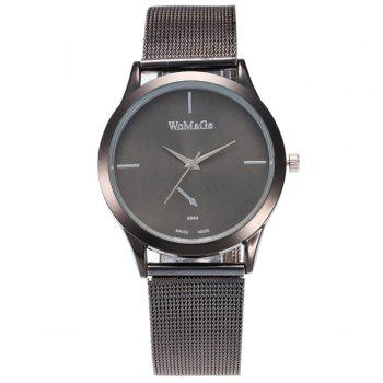 Vintage Alloy Adorn Watchband Quartz Watch