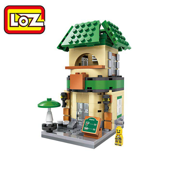 LOZ ABS 312pcs Mini Street Building Block DIY Model - COLORMIX