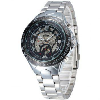 Vintage Roman Numerals Mechanical Embellished Watch