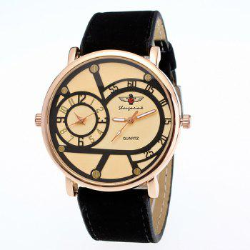 Vintage Adorn Big Dial Plate Quartz Watch