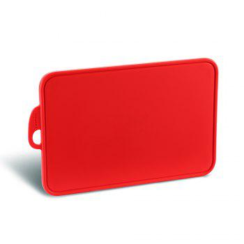 zanmini Color-coded Food Graded PP Cutting Board - RED