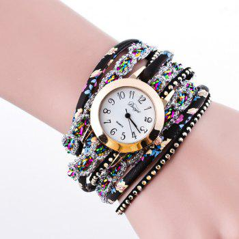 Cuir artificiel Montre-bracelet