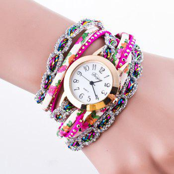 Artificial Leather Bracelet Watch