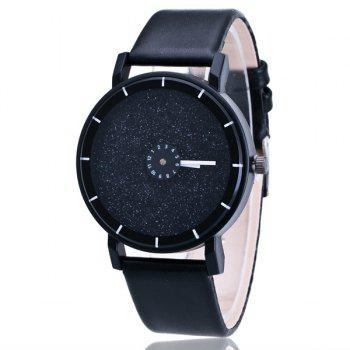 Faux Leather Starry Sky Quartz Watch