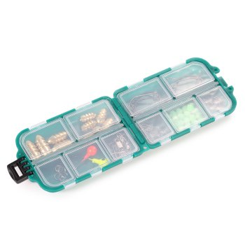 83pcs Multi-purpose Fishing Tackle Pin / Hook / Ring / Storage Box