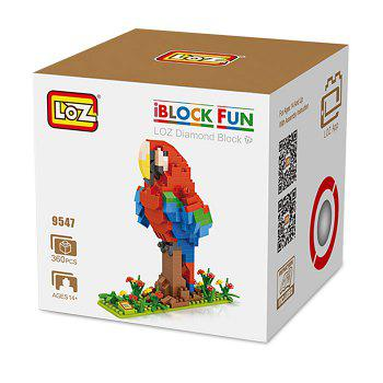 LOZ Jouet des Enfants de Prduit de Film Educatif de 360pcs de Bloc de Construction d'Animal - multicolorcolore