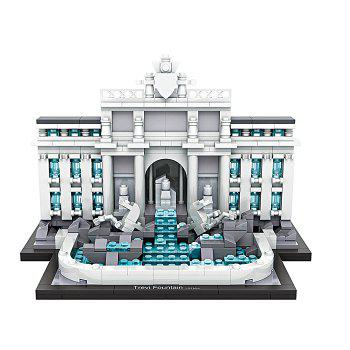 LOZ ABS Architecture Building Block Educational Movie Product Kid Toy - 677pcs - COLORMIX