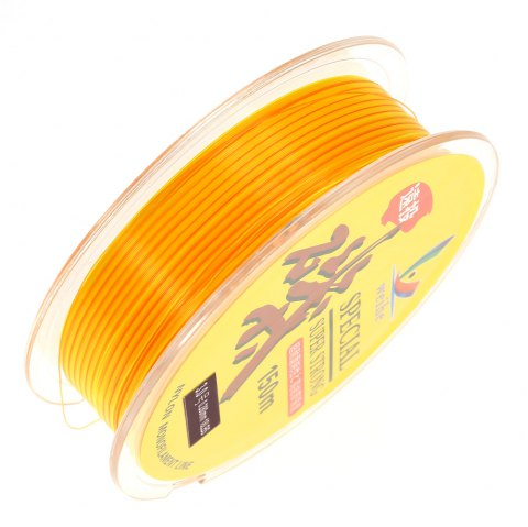 150m Wear-resistant Nylon No.3.0 Fishing Line - YELLOW