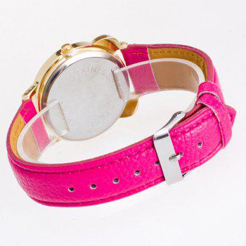 Faux Leather Panda Quartz Watch - TUTTI FRUTTI