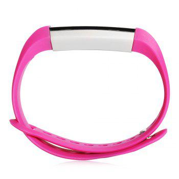 M1 Heart Rate Smart Wristband with Information Pushing Bidirectional Anti-lost Function -  ROSE RED