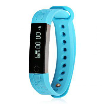 M1 Heart Rate Smart Wristband with Information Pushing Bidirectional Anti-lost Function -  GREEN