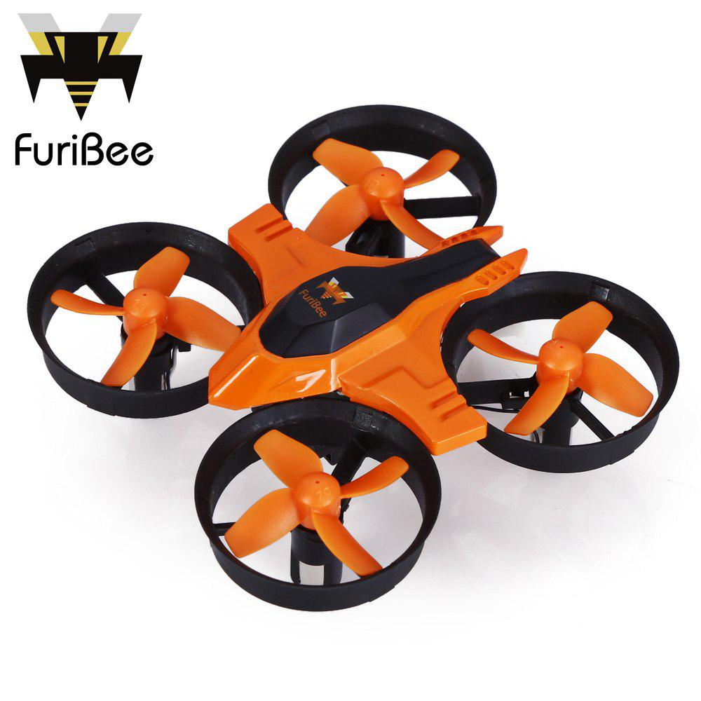 Buy FuriBee F36 Mini 2.4GHz 4CH 6 Axis Gyro RC Quadcopter Headless Mode / Speed Switch ORANGE