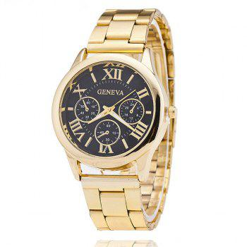 Steel Band Roman Numerals Montre
