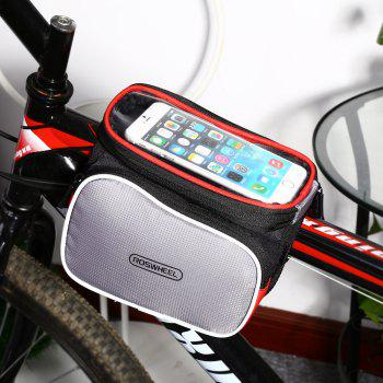 ROSWHEEL D12813 2L Touch Screen Bike Front Tube Bag Smart Phone Pouch Cycling Accessories