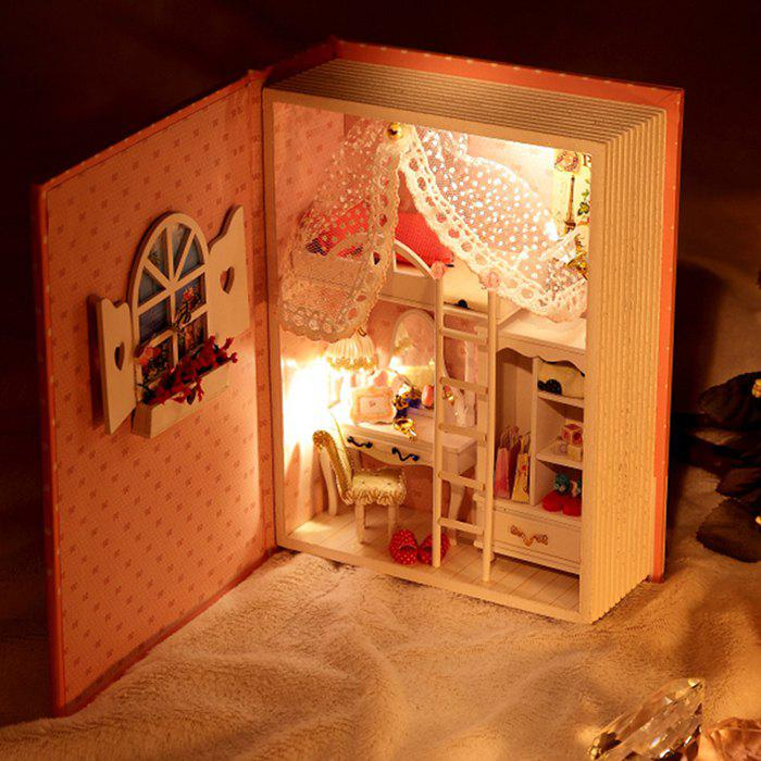 Doll House Design DIY Miniature Box Diary Idea Art Handicraft Gift - COLORMIX