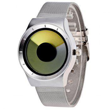 Turntable Stainless Steel Quartz Watch