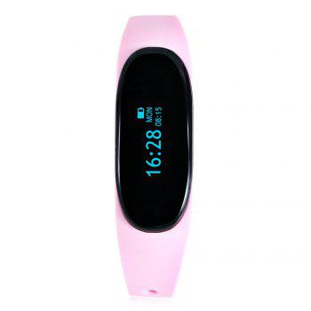 Alfawise T02 Bluetooth 4.0 Sleep Monitor Smart Wristband with Remote Camera Music IP65 Water Resistance