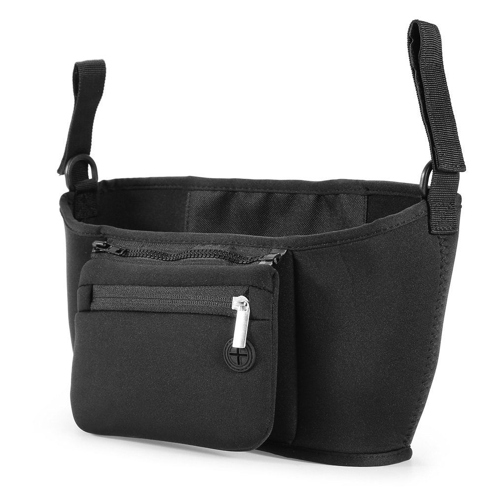 Chloroprene Rubber Baby Carriage Bag with Detachable Mobile Phone Pouch mimco hairleather tote with detachable mid pouch