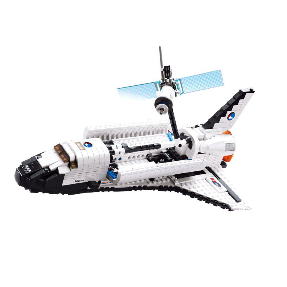 Spacecraft Atlantis Model Building Block 630pcs Advanced Level Intelligence Development Toy for Kids bix j3a advanced infant trachea intubation training model wbw121