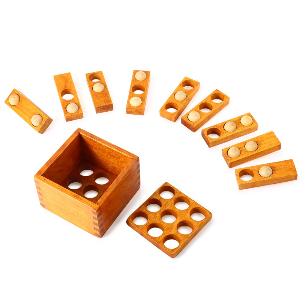 3D Puzzle Educational Wooden Interlock Toy maikou mk524 puzzle educational wooden interlock toy birthday gift