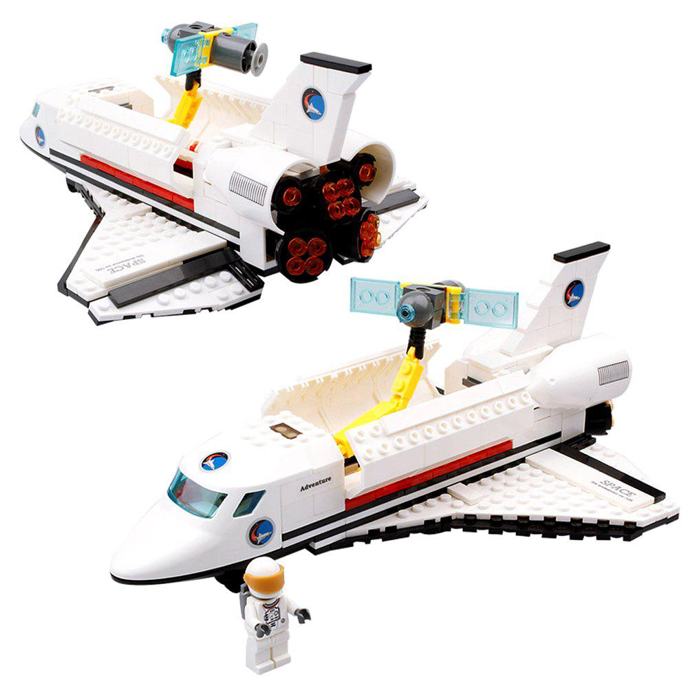 ABS Space Shuttle Endeavour Building Block Model 285pcs Intermediate Level for Kids - COLORMIX
