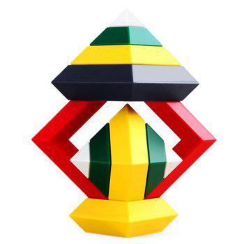 Buy Rhombic Building Block Educational Kid Toy - 1/ set COLORMIX