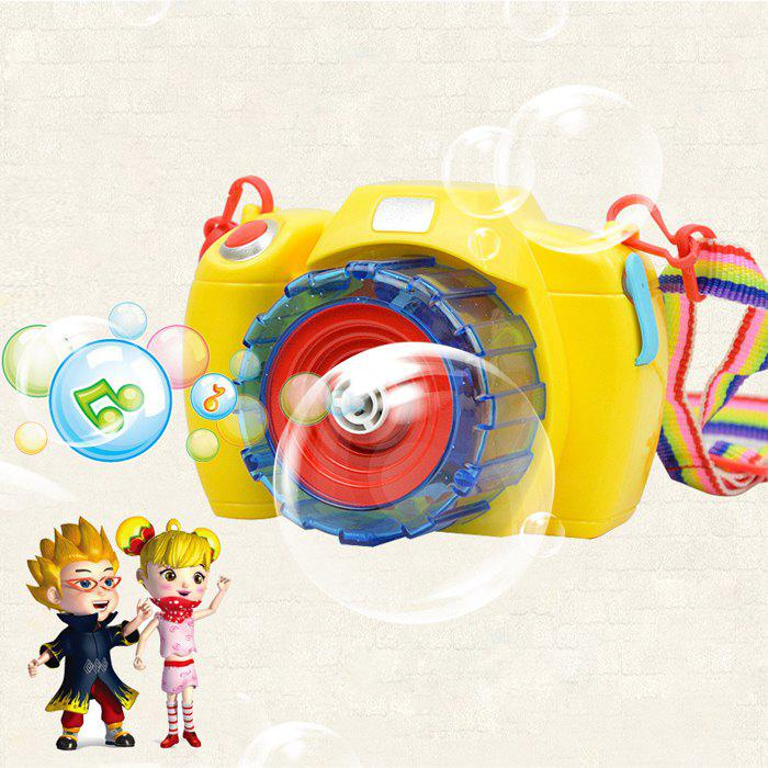 Camera Indoor Outdoor Toy Kid Bubble Blower Baby Gift - multicolorcolore