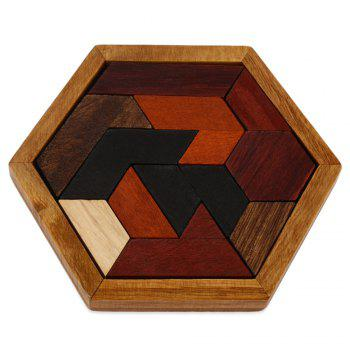 Jigsaw Puzzle Educational Wooden Interlock Toy