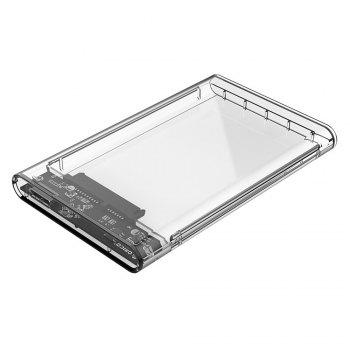 ORICO 2139U3 2.5 inch Transparent Hard Drive Enclosure for HDD / SSD Connectivity - TRANSPARENT USB 3.0