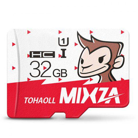 MIXZA TOHAOLL SDXC Micro SD Card Monkey Year Limited Edition Memory Cards Storage Device - COLORMIX 32GB