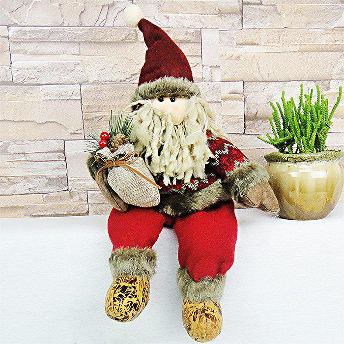 Christmas Theme Figure Model Lovely Plush Doll Soft Cute Stuffed Toy - 15.7 inch christmas theme figure model lovely plush doll soft cute stuffed toy 15 7 inch