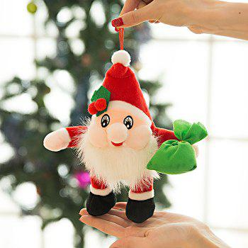 Buy Santa Clause Figure Model Lovely Plush Doll Soft Cute Stuffed Toy - 9.84 inch COLORMIX