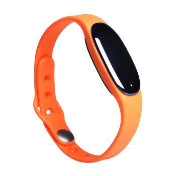 L7 Bluetooth 4.0 Smart Wristband Sleep Monitor Notifications Reminder Anti-lost Bracelet - ORANGE ORANGE